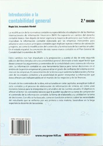 Introducci}n a la Contabilidad General, 2? Ed.