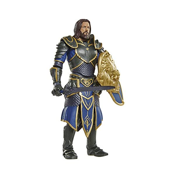 Warcraft 6 Lothar action Figure With Accessory by Warcraft 3