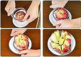 sunnymi Edelstahl ★ Äpfel Schnitt Schneidemaschine ★Neue Frucht Apfel Birne Easy Cutter Divider Peeler/Die corer Slicer Fruchtkerne