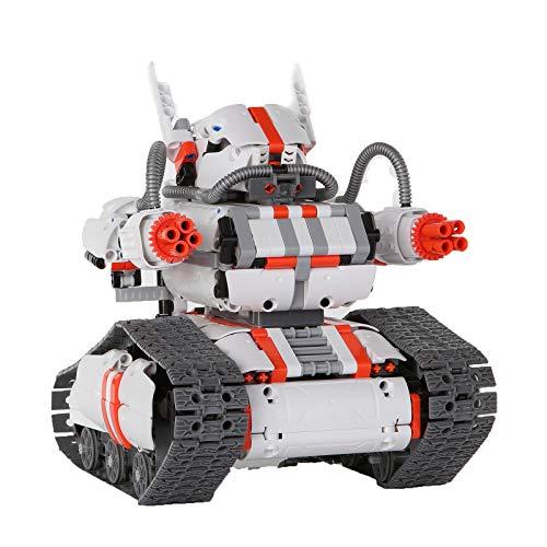 Xiaomi Mi Robot Builder Rover Appgesteuerter Roboter (Über 1.000 Bauteile + 2 Motoren, 3 Modelle baubar, Einfache Steuerung & Programmierung über iOS/Android App, Für Kinder ab 10 Jahren & Erwachsene)