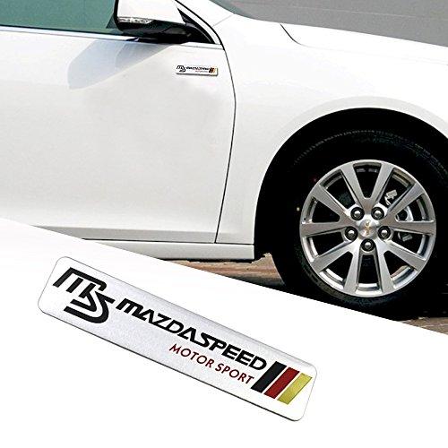 OPAYIXUNGS Emblem Aufkleber Mazda Logo Emblem Schriftzug Badge Aufkleber 1 pcs