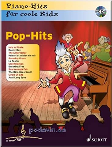 Pop-Hits - Piano-Hits für coole Kids - Klaviernoten [Musiknoten]