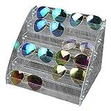 Fdit Organizador para Gafas de Sol Acrílico Vitrina para exposición A...