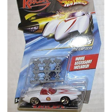 Hot Wheels Speed Racer Mach 5 with Jump Jacks Movie Accessory by Hot Wheels
