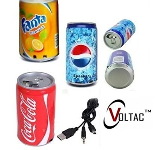 VOLTAC` ™ Soft Drink Design Portable Bluetooth Speaker  available at amazon for Rs.385