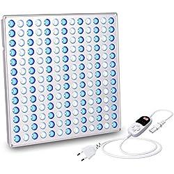 Roleadro Luce LED Acquario 75W con il timer LED per Grow Box/Acquario Pesci Marino Tropicali/Idroponica Kit