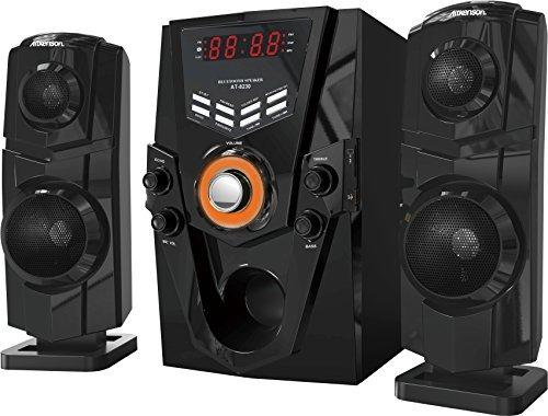 2.1 Channel Bluetooth Speaker 70W RMS Karaoke AUX FM SD USB Input Remote Control (Model: T8230)