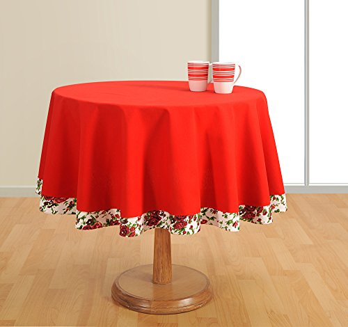 Round Table Cover 4 seater 100% Duck Cotton,60