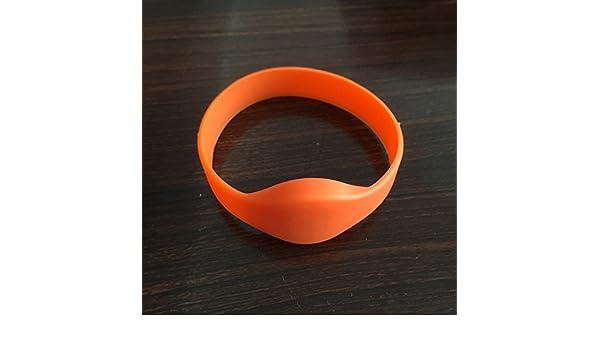 colore verde RFID 125 KHz RFID Access Control in silicone porta d entrata 5pcs EM4100 TK4100 leggere solo braccialetto