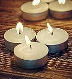 Orlando's Decor Candles White T Light Ca...