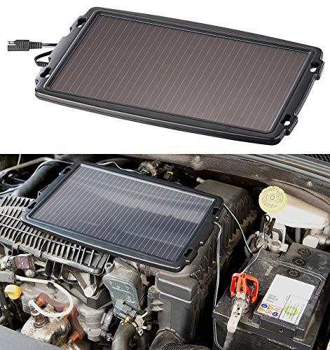 REVOLT Solarpanel Auto: Solar-Ladegerät für Auto-Batterien, 12 Volt, 2,4 Watt (Solar Ladegerät 12V)
