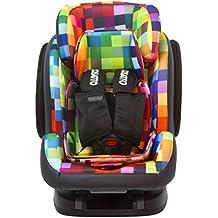 Cosatto Hug GRP 123anti fuga Isofix asiento de coche (Pixelate)