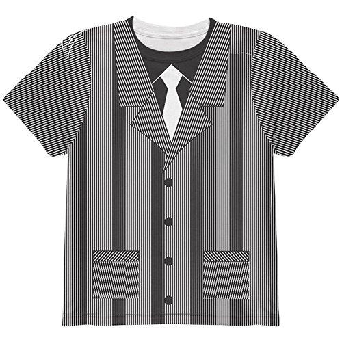 Halloween 20er Jahre Gangster Kostüm ganzen Jugend T Shirt Multi YXL
