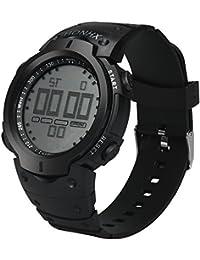 Reloj de Pulsera electrónica para Hombres Digital Reloj Deportivo Simplicidad y moda Resistente contra Agua Multifunciones