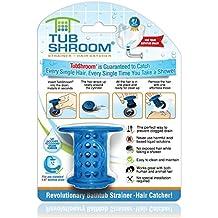 TubShroom Die revolutionäre Badewanne Abflussschutz / Haarfänger - Blau