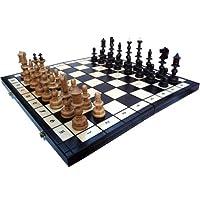 ChessEbook-Edles-Schachspiel-OLD-POLISH-58-x-58-cm-Holz-Handgeschnitzt