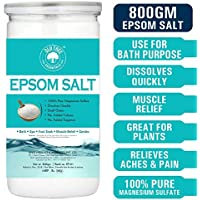 Old Tree Epsom Bath Salt for Muscle Relief, Relives Aches & Pain, 800G