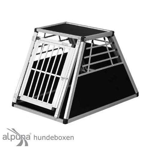 hundeinfo24.de Alpuna Transportbox N41 > 96x65x65cm Notausstieg