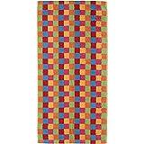 Cawö Saunatuch Lifestyle Cubes 7017 multicolor - 25 Größe 70 x 180