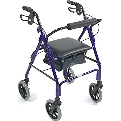 Days Lightweight Aluminum Rollator- Four Wheel Aid