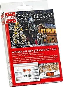 Busch 1167 Accessories Road Winter HO - Báscula de esparcimiento