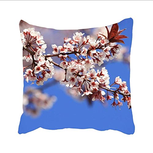 EUEI Plum Blossom Tree Drawing Designs Outdoor Patio Couch Throw Pillows, 20