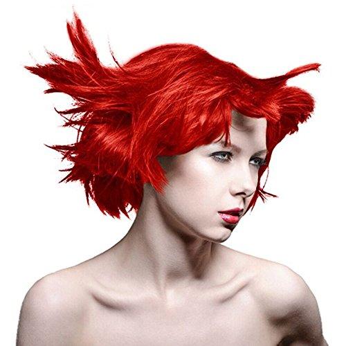 Manic Panic Classic Pot De 118ml - Coloration Semi Permanente Vibrante (Inferno Red - Rouge Intense)