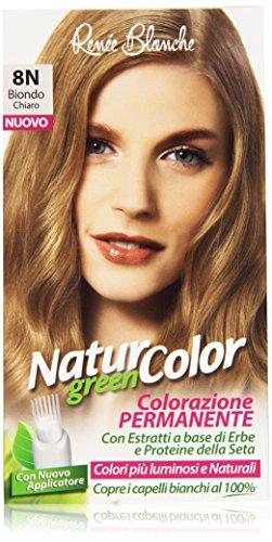 Renée Blanche - Natur Color, Colorazione Permanente, 8N Biondo Chiaro