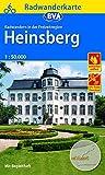 Radwanderkarte BVA Radwandern in der Freizeitregion Heinsberg 1:50.000, reiß- und wetterfest und mit GPS-Track-Download der ausgeschilderten Routen: mit Begleitheft (Radwanderkarte 1:50.000) -