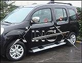 Renault Kangoo y Mercedes Citan cromo Windows Marco Trim 4piezas Inox