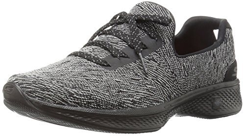 Skechers 14176/BKGY Slip-on Donna Black / grey