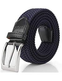 c61e5ff39 Fairwin Cinturón Elástico Trenzado Para Hombres y Mujeres