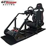 GT Omega ART Racing Simulator Cockpit RS9 Seat Suitable for the Logitech G27, G29, G920 , G25 by GT Omega Racing