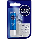 Nivea Active Care Lip Balm For Men, SPF 15, 4.8g