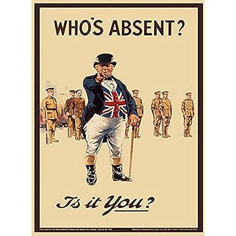 British de leyendas de John Bull quién es ocupan puestos ejecutivos Vintage diseño británico de - tamaño 15 x 20
