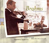 Rubinstein Collection, Vol. 41: All Brahms: 3 Violin & Piano Sonatas; Opp. 78/100/108