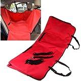 Anself 867862 - Cubierta de asiento de coche para animal doméstico, estilo hamaca, color rojo