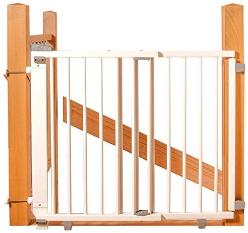 Geuther 2733+ Schwenk- Treppenschutzgitter, weiß