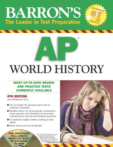 Barron's AP World History (Barron's: The Leader in Test Preparation)
