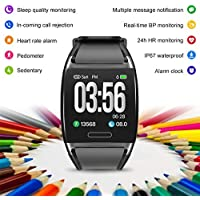 Hammer Flex Activity Tracker Fitness Band Fitness Tracker Smart Watch with Color LED Display, Heart Rate, Blood Pressure, IP67 Waterproof (Supported Application H Band)
