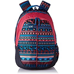Wildcraft Polyester 28 Ltrs Pink School Backpack (Wiki 1 Aztec 1)