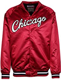 Mitchell   Ness NBA Satin Chicago Bulls Giacca College 9ca733f23abf