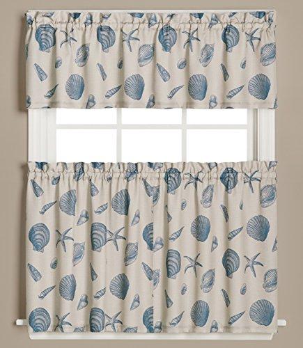 Seychellen Vorhang Set, Polyester, 36