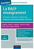 Image de La Raep enseignement - 2e éd. - Concours internes et réservés, exam