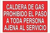 'cofan p50tpl297210-signal-Sicherheit Gaskessel verbietet der Übergang zu jeder nicht salariée im Dienste