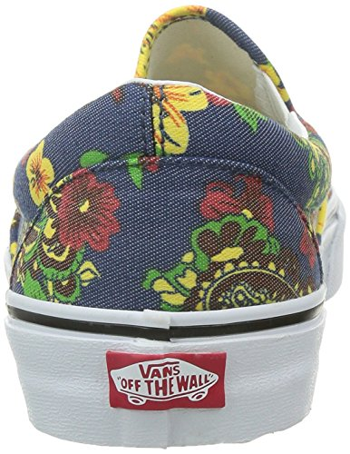 Herren Slip On Vans Classic Slip-On Slippers (aloha) dress blues