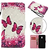 Tophung Nokia 2.1 Case 2018, Shockproof PU Leather Flip