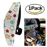 Weiches Sicherheitsband für Kinder/Babys im Buggy/Autositz, wenn sie schlafen, Hilfe/Kopf-Unterstützung/Halter