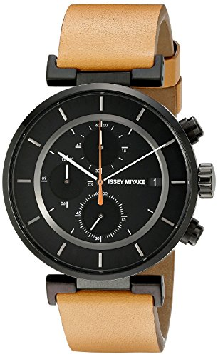 ISSEY MIYAKE Men's SILAY006 W Analog Display Quartz Brown Watch