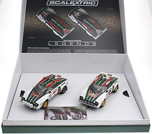 Scalextric C3894A Cars Legends Lancia Stratos 1976